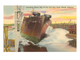 Gulf Shipyard, Mobile, Alabama Posters