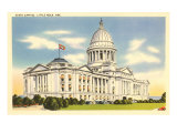 State Capitol, Little Rock, Arkansas Print