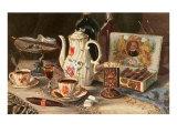Postprandials, Coffee, Cigars, Brandy Poster