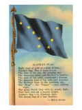 Alaskan Flag and Poem Posters