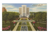 City Hall, Birmingham, Alabama Prints