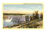 Carpenter Dam, Arkansas Prints