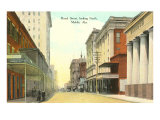 Royal Street, Mobile, Alabama Prints