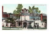 Ozark Bath House, Hot Springs, Arkansas Poster