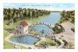 Pugh&#39;s Mill Park, Little Rock, Arkansas Prints