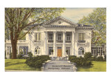 Governor's Mansion, Montgomery, Alabama Poster