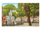 Bienville Square, Mobile, Alabama Poster