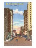 Downtown Birmingham, Alabama Poster