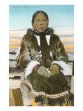 Eskimo Woman, Nome, Alaska Prints