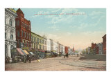 Early Street Scene, Montgomery, Alabama Posters