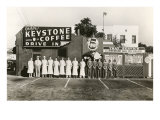 Employee Picture of Keystone Coffee Drive In Print