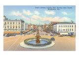 Street Scene, Montgomery, Alabama Posters