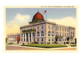 City Hall, Little Rock, Arkansas Prints
