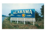 Alabama Billboard Posters