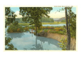 Blue Hole, Bella Vista, Arkansas Posters