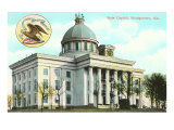 Montgomery State Capitol, Alabama Posters