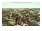 View over Hot Springs, Arkansas Prints