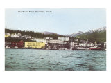 Ketchikan Waterfront, Alaska Prints