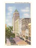 St. Joseph Street, Mobile, Alabama Kunstdrucke