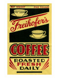 Freihofer's Coffee Label Lámina