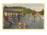 Pool, Hot Springs, Arkansas Print