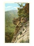 Rock Outcrop, Harrison, Arkansas Poster