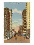 20Th Street, Birmingham, Alabama Kunstdrucke