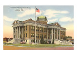 Limestone County Courthouse, Athens, Alabama Posters
