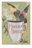 Butterfly Drinking Panama Coffee Posters