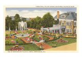 Estate in Birmingham, Alabama Print