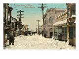 Front Street in Nome, Alaska Prints