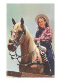 Cowgirl on Palomino Prints