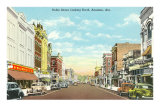 Noble Street, Anniston, Alabama Print
