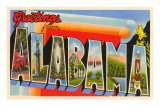 Greetings from Alabama Poster