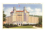Arlington Hotel, Hot Springs, Arkansas Kunstdruck