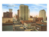 Downtown Birmingham, Alabama Print