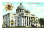 Montgomery State Capitol, Alabama Poster