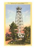 Observation Tower, Hot Springs, Arkansas Print
