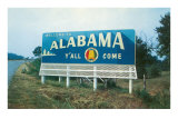 Alabama Billboard Poster