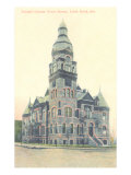 Pulaski County Courthouse, Little Rock, Arkansas Prints