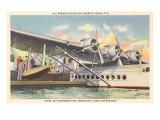 Pan American Clipper Boarding in Miami Prints