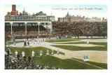 Old Chicago Ball Grounds Prints