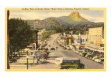 Gurley Street, Prescott, Arizona Prints
