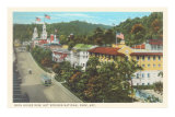 Bathhouse Row, Hot Springs, Arkansas Poster