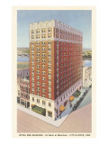 Hotel Ben Mcgehee, Little Rock, Arkansas Print