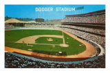 Dodger Stadum, Los Angeles, California Posters