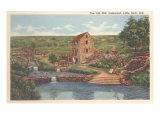 Old Mill, Lakewood, Little Rock, Arkansas	 Posters
