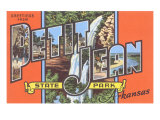 Greetings from Petit Jean, Arkansas Poster