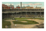 National League, Cubs Ball Park, Chicago Print