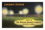 Lawrence Stadium, Wichita, Kansas Poster